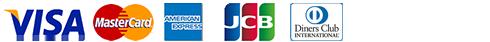 VISA/MASTER/AMERICAN EXPRESS/JCB/DINERS CLUB